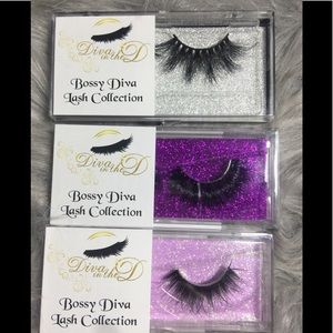 Mink Lashes - Bossy Diva Collection